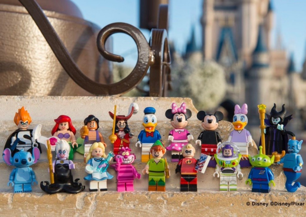Disney Lego minifigures series 1