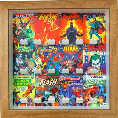 FRAMEPUNK Display Frame compatible with Lego DC minifigures