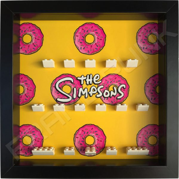 LEGO The Simpsons Minifigures Series 1 & 2 Donuts display frame (black)