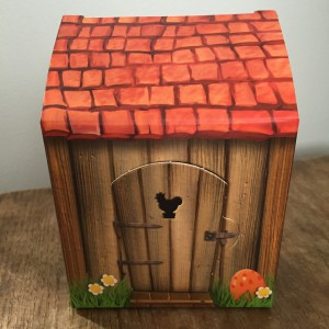 Lego Easter Chicken Man House