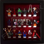 Marvel Black Frame Display With Minifigures