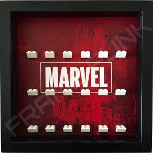 Marvel Black Frame Minifigure Display