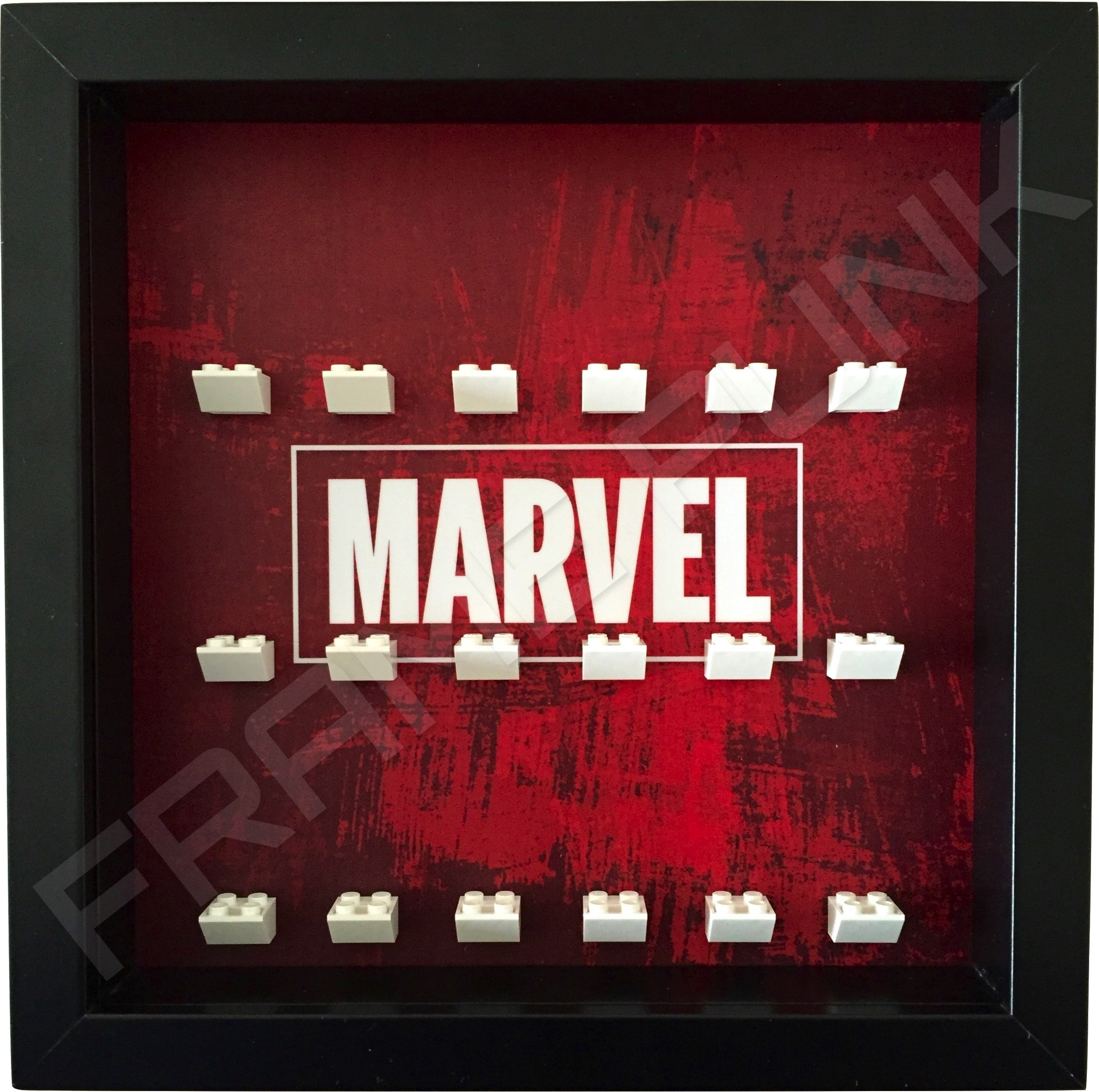 Marvel Black Frame Minifigure Display