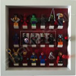 Marvel White Frame Display With Minifigures