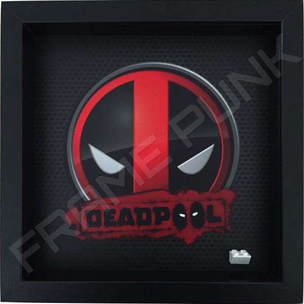 Deadpool Black Frame minifigure display