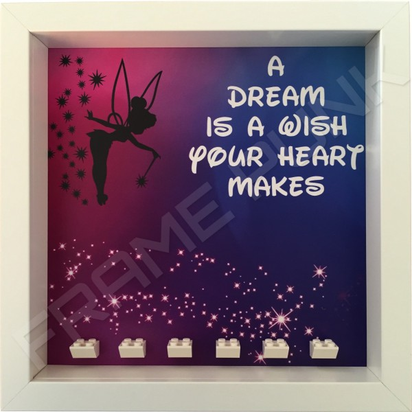 Disney Princess White Frame minifigures display