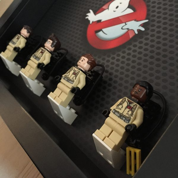 LEGO Ghostbusters minifigurers close up