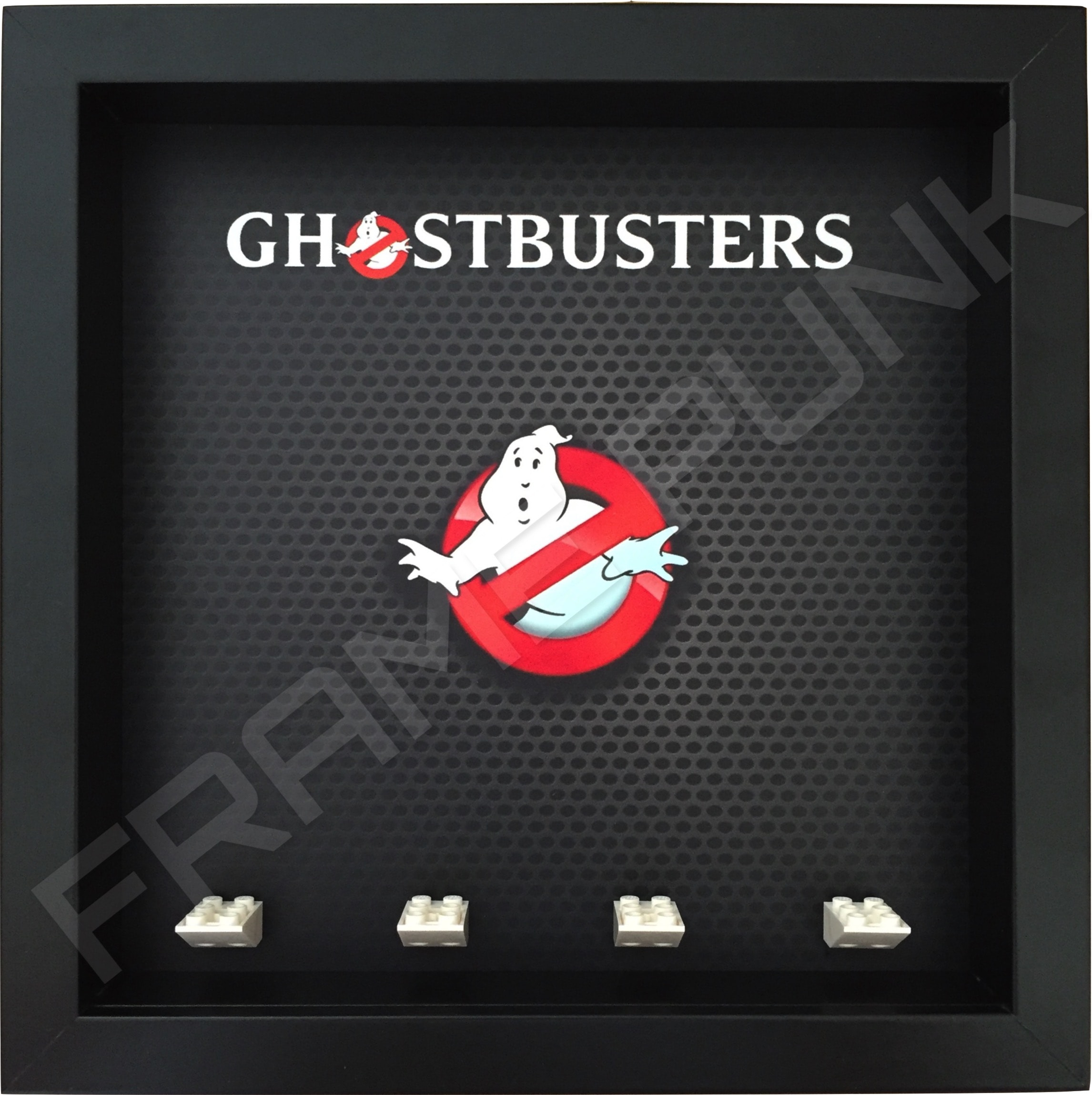Lego Ghostbusters minifigure display frame