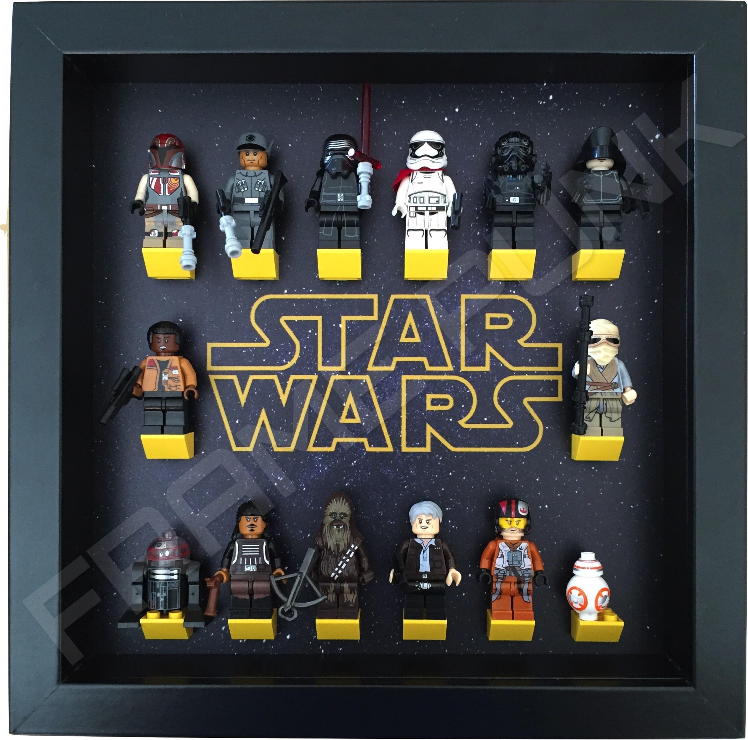 Star wars lego minifigure display frame frame punk - Image star wars lego ...