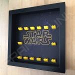 Star Wars Black Frame Minifigure Display Side View