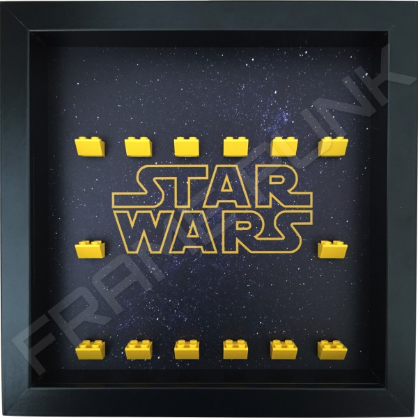 Star Wars Black Frame minifigures display