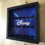 Disney Starry Black Frame Lego Minifigure Display Side View