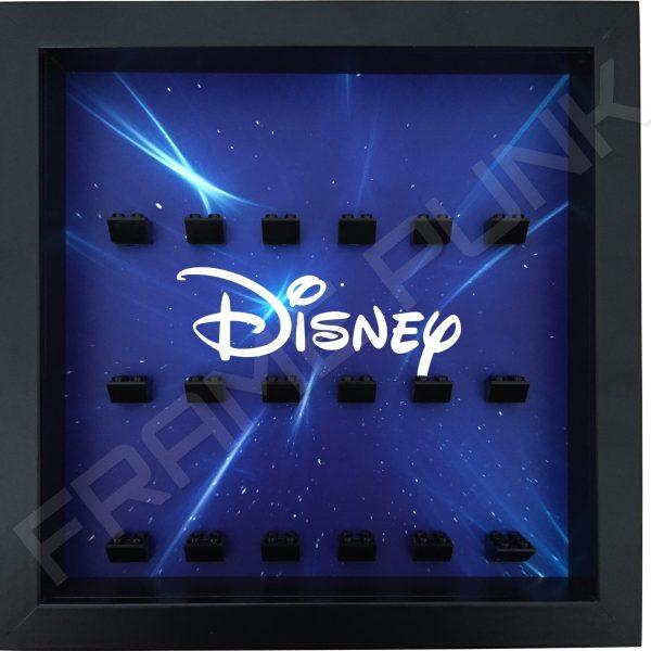 Disney Starry Black Frame Lego minifigures display