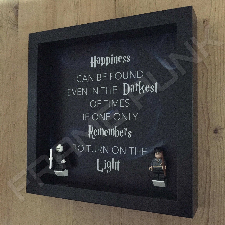 Harry Potter-Dumbledore LEGO Minifigure Display - Frame Punk