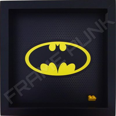 Classic LEGO Batman Minifigure display frame