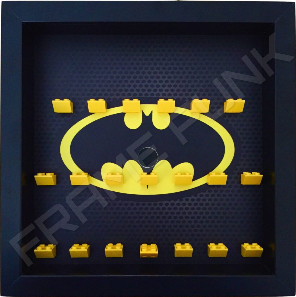 Classic Lego Batman Movie Display Frame Black Frame Punk