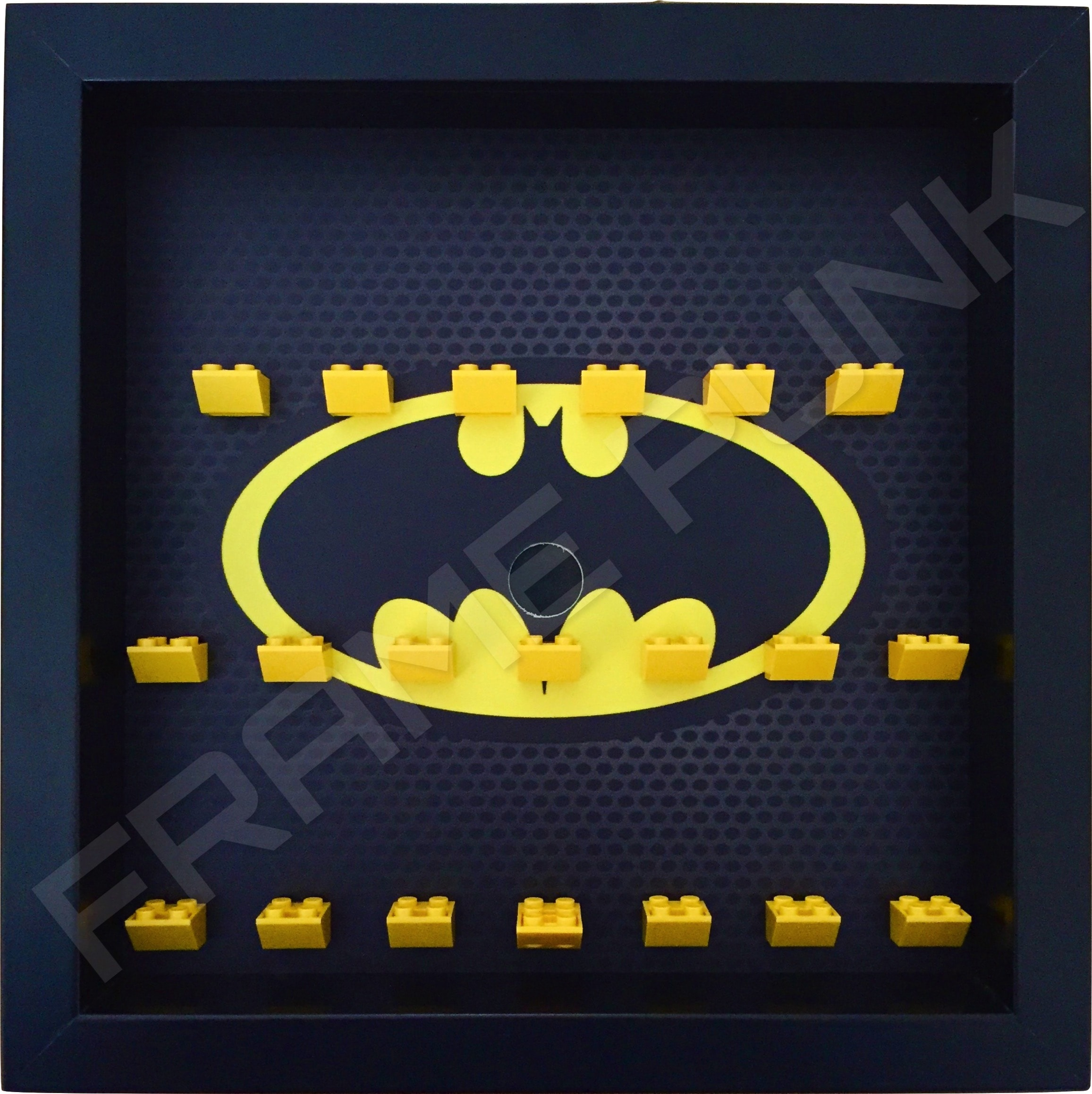 classic lego batman movie minifigures series display frame black