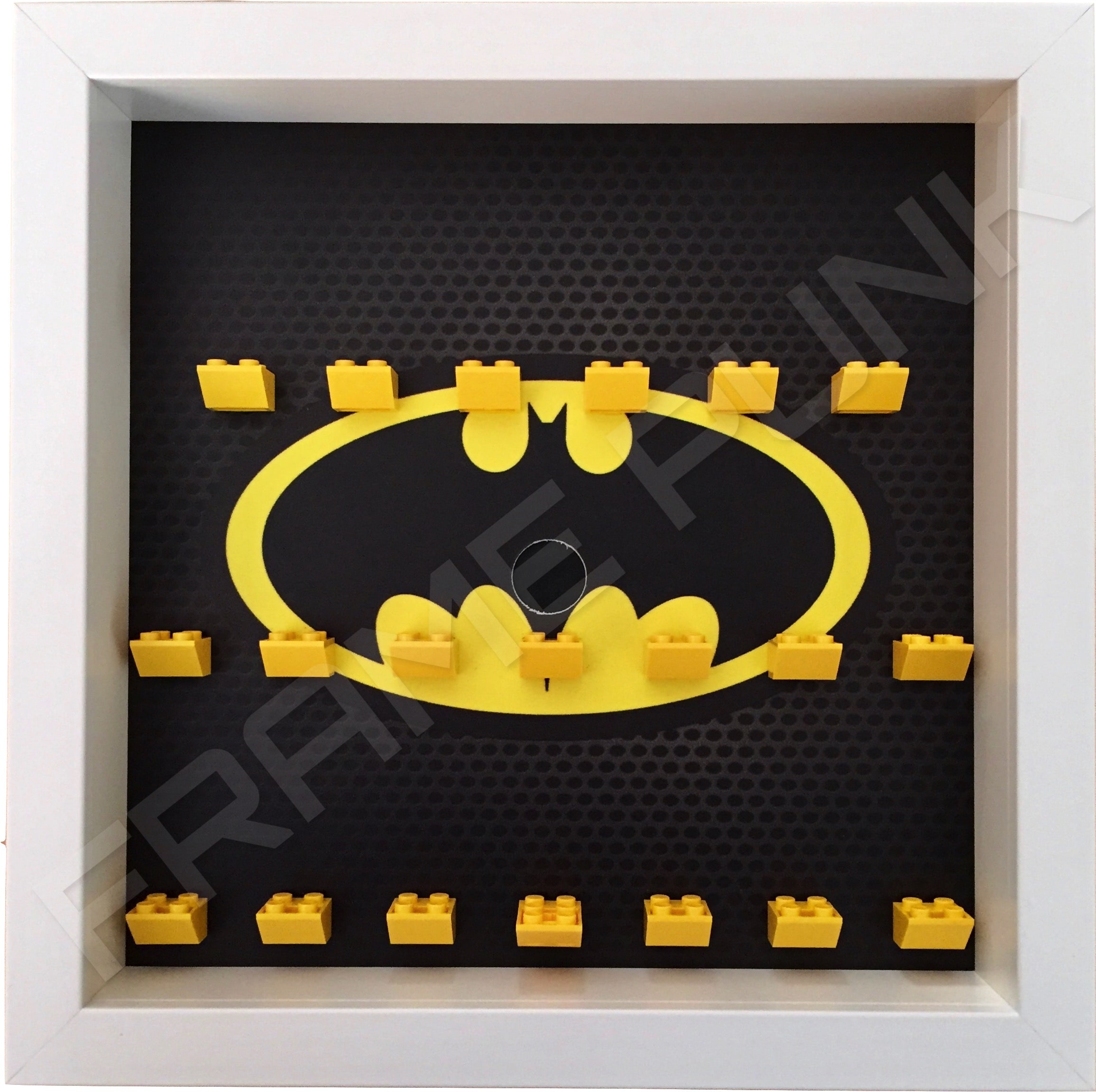Classic LEGO Batman Movie Minifigures Series display frame (white)