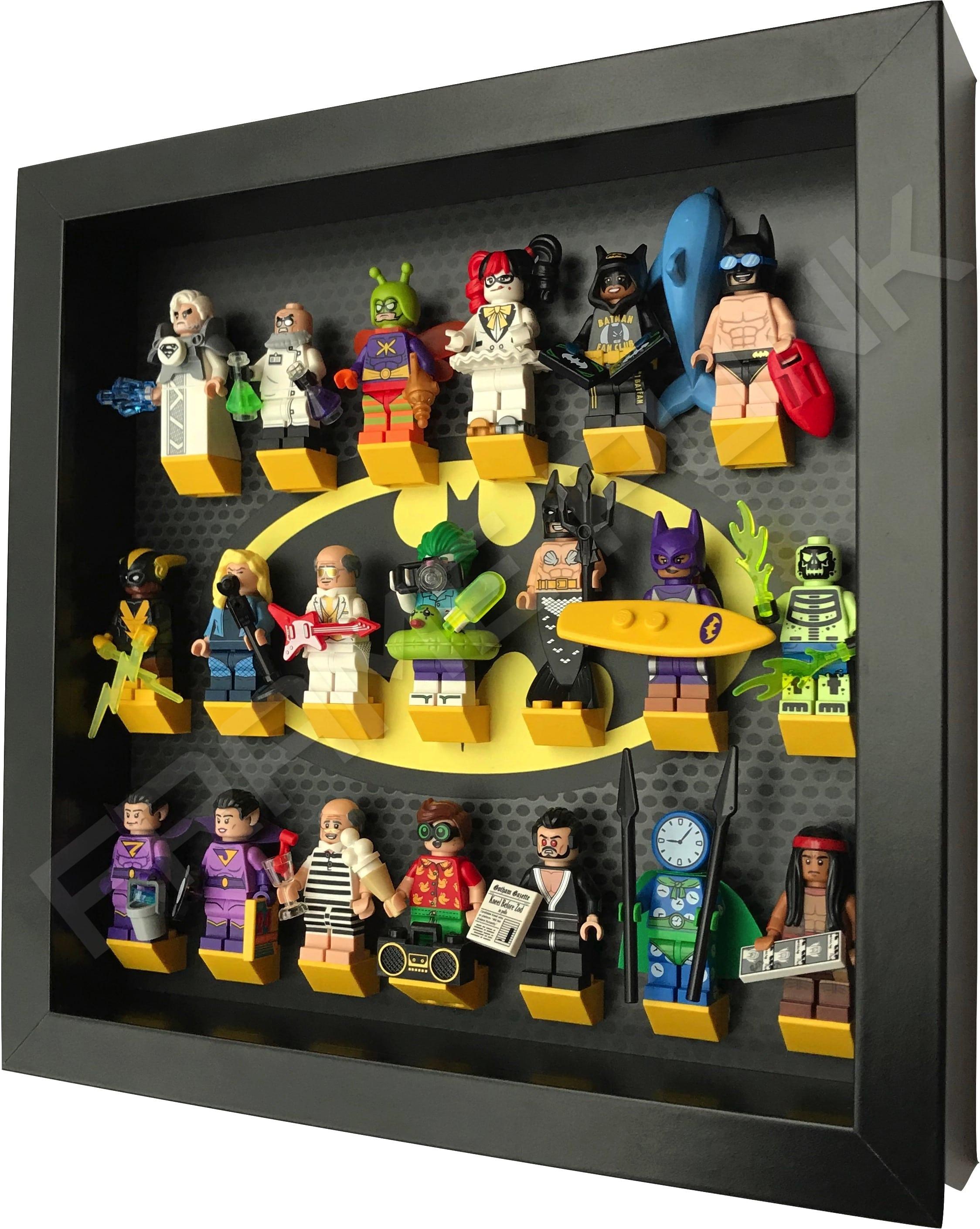Classic Lego Batman Movie Display Frame Black Frame Punk