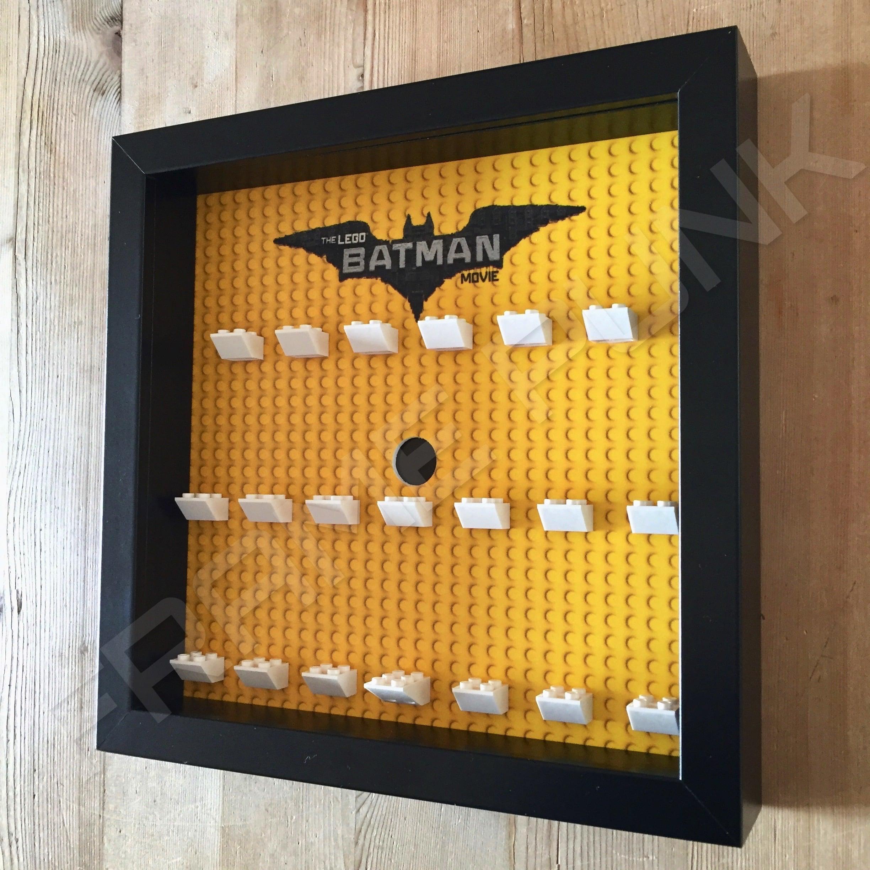 Lego Batman Movie Minifig Display Frame Black Frame Punk