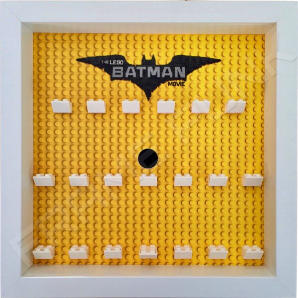 LEGO Batman Movie Minifigures Series display frame (white)