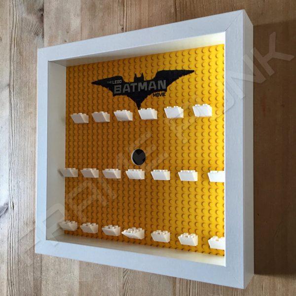 LEGO Batman Movie Minifigures Series display frame (white) Side View