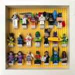 LEGO Batman Movie Minifigures display frame with Series 2 minifigures (White)