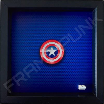 LEGO Captain America Minifigure display frame