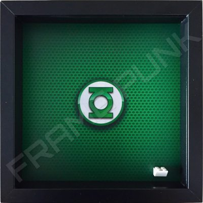 LEGO Green Lantern Minifigure display frame