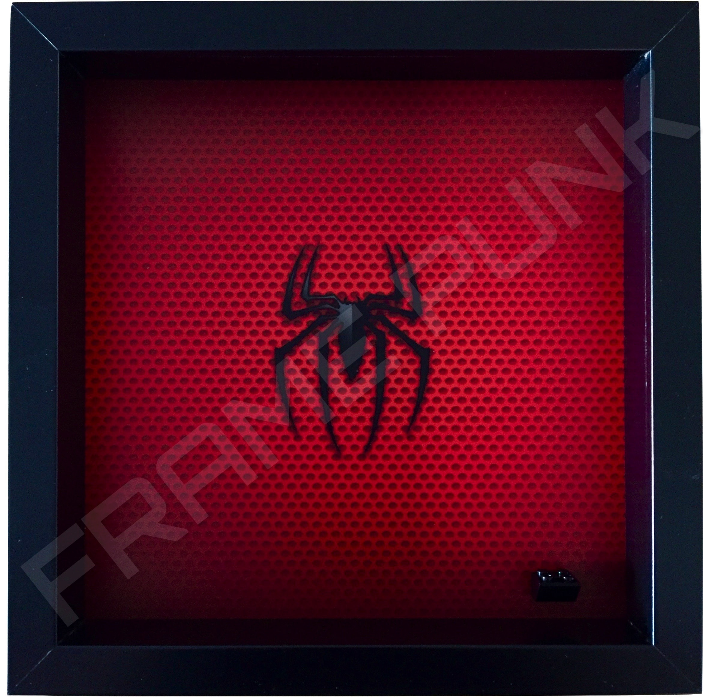 LEGO Spider-Man Minifigure display frame