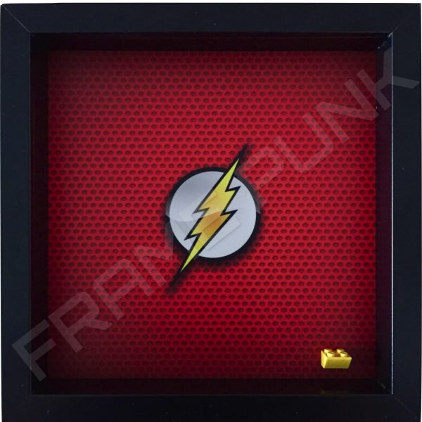 LEGO The Flash Minifigure display frame