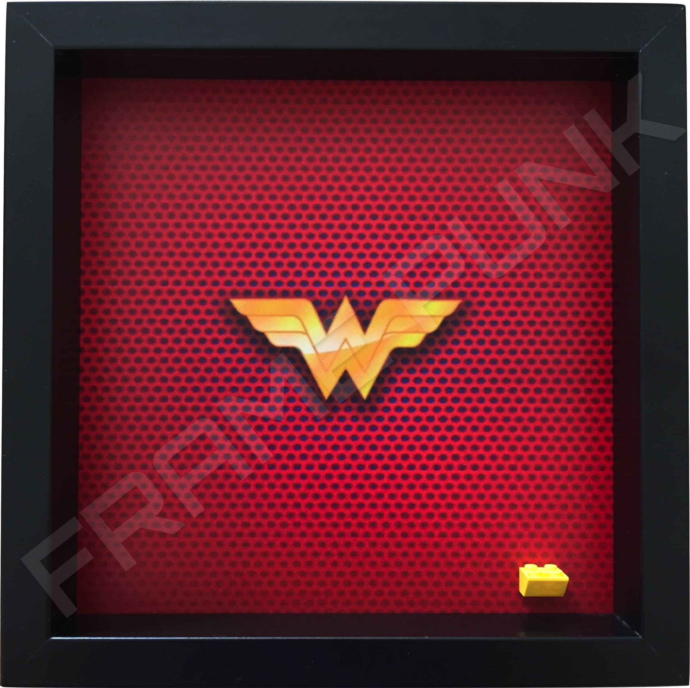 LEGO Wonder Woman Minifigure display frame