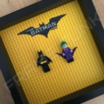 LEGO Batman Movie Minifigure Series Duo display frame with minifigures (Combo 1)