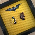 LEGO Batman Movie Minifigure Series Duo display frame with minifigures (Combo 2)