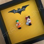 LEGO Batman Movie Minifigure Series Duo display frame with minifigures (Combo 3)