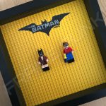 LEGO Batman Movie Minifigure Series Duo display frame with minifigures (Combo 6)