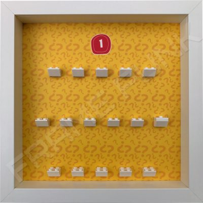 Lego minifigures series 1 display frame