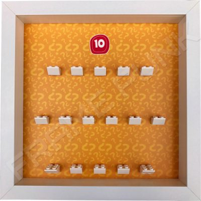 Lego minifigures series 10 display frame