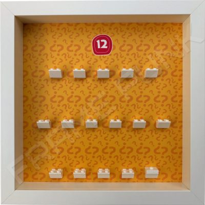 Lego minifigures series 12 display frame