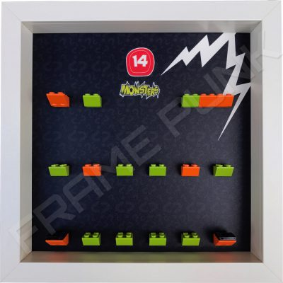 Lego minifigures series 14 display frame