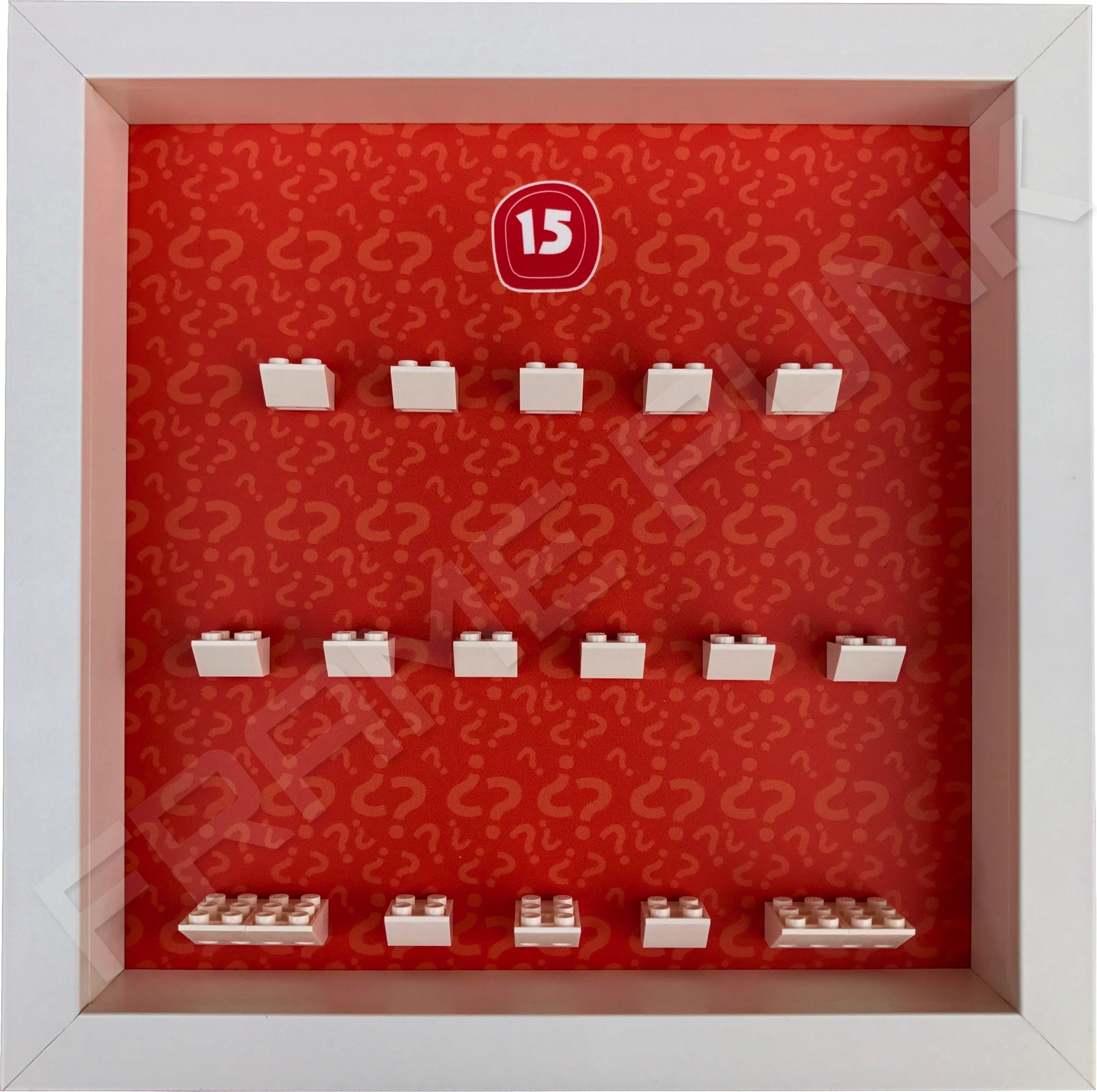 Lego minifigures series 15 display frame