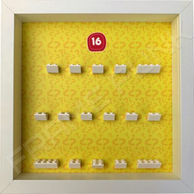 Lego minifigures series 16 display frame
