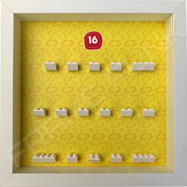 Lego minifigures series 16 display frame