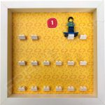 Lego minifigures series 1 display frame with Skater minifigure