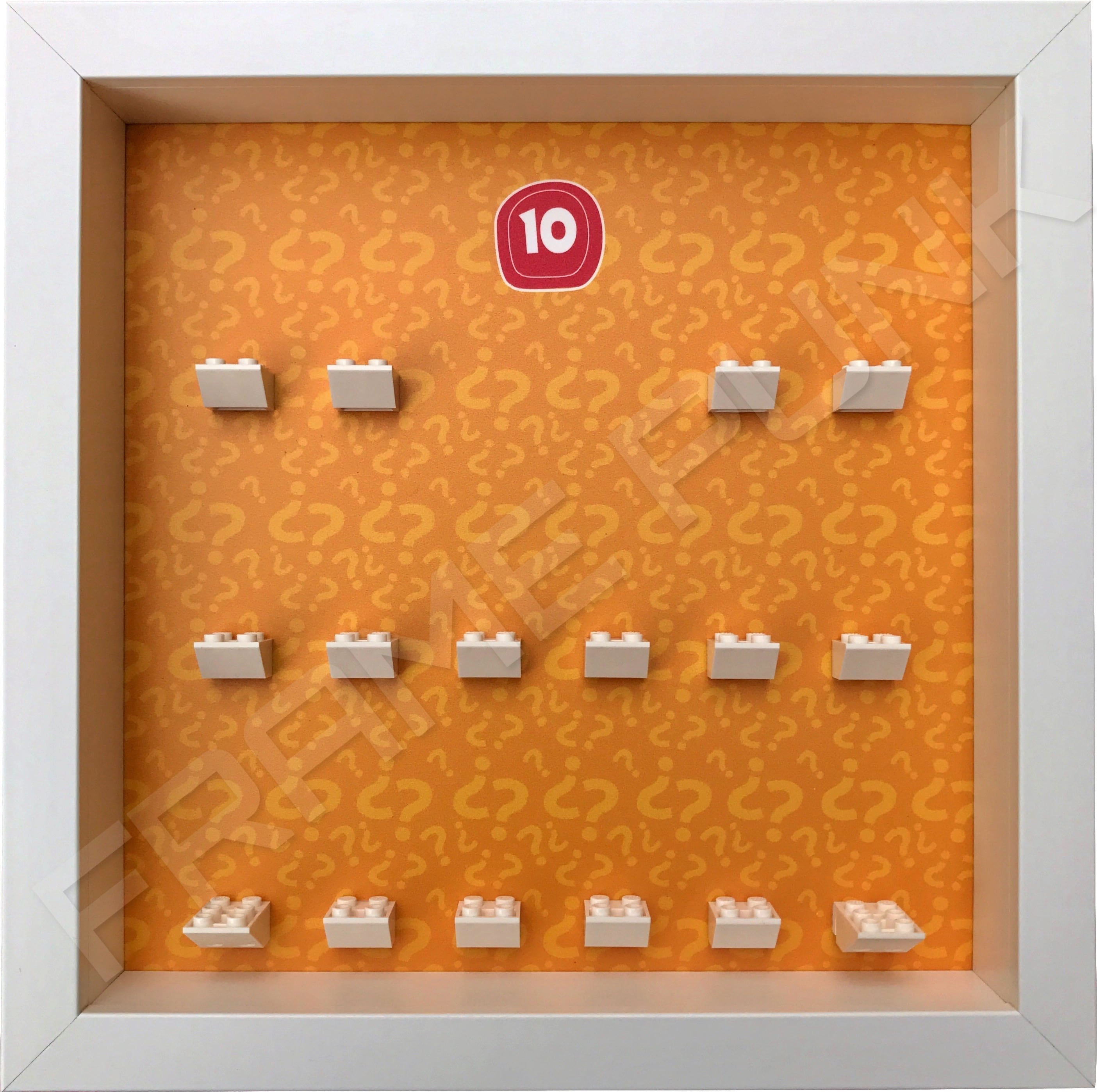 Lego minifigures series 10 display frame