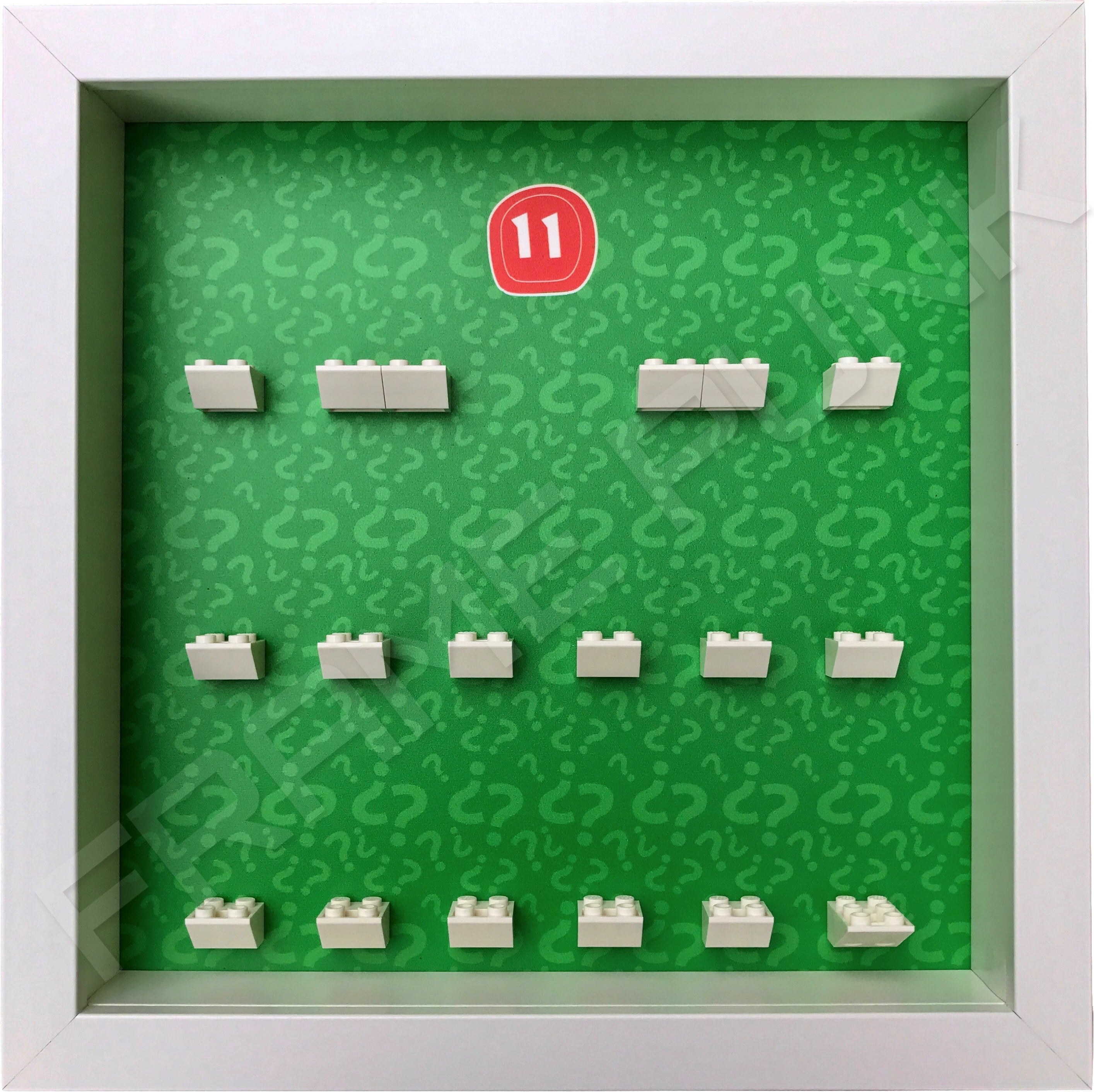 Lego minifigures series 11 display frame