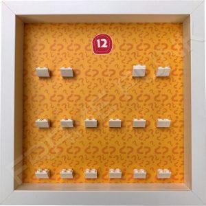 Lego minifigures series 12 display frame
