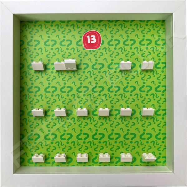 Lego minifigures series 13 display frame