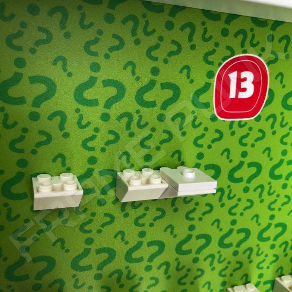 Lego minifigures series 13 display frame plate for Snake Charmer minifigure