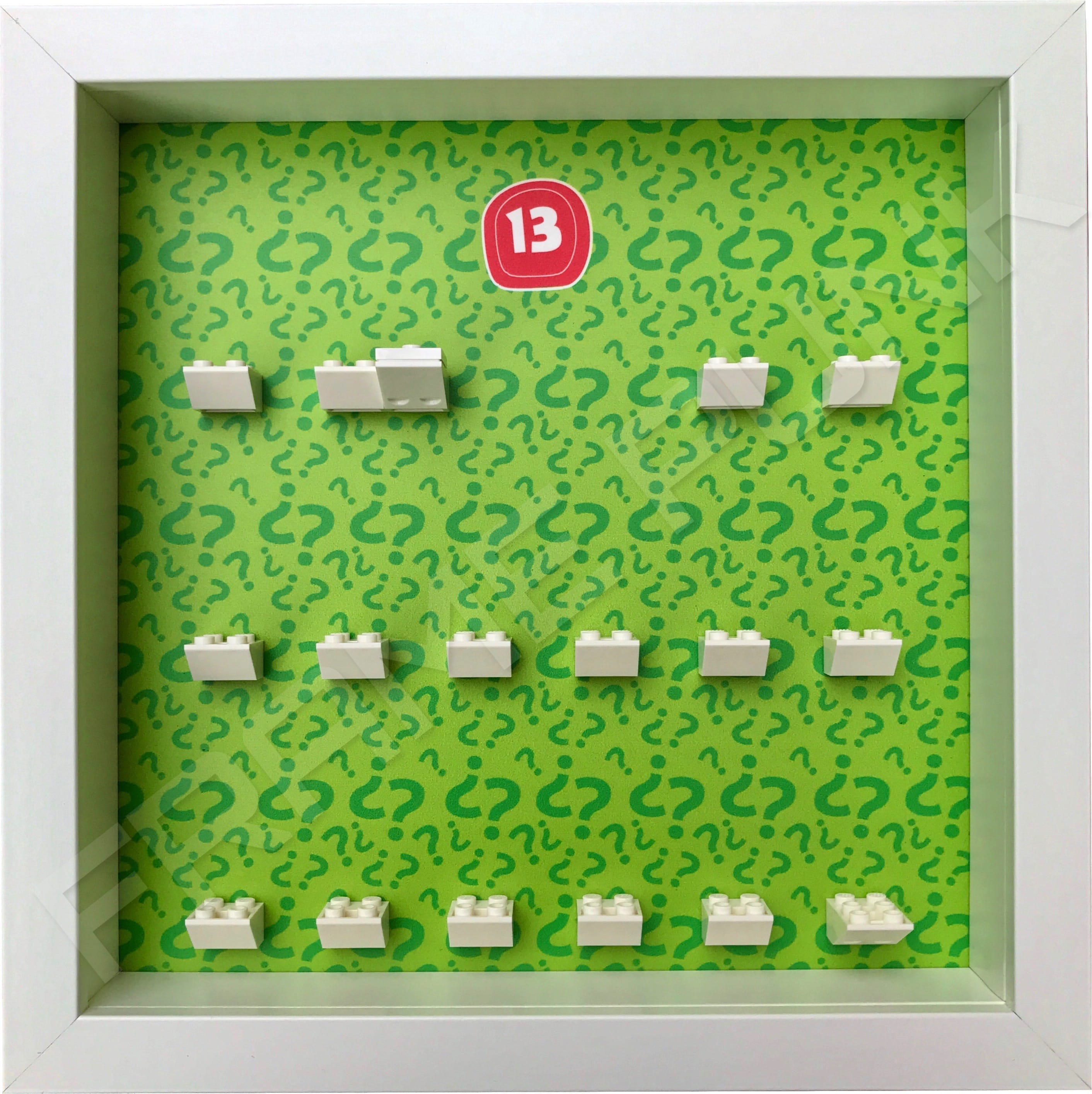Lego minifigures series 13 display frame